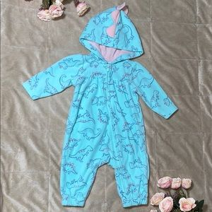 Baby girl carters jumpsuit size 3 months